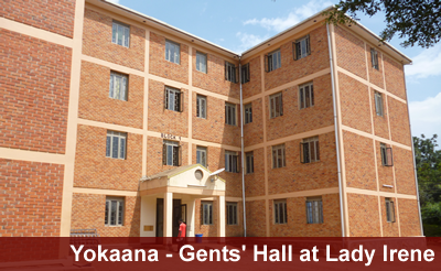Gents Hall - Yokaana at Ndejje