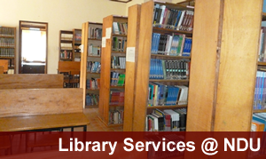Library Services at Ndejje