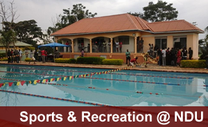 Recreation & Sports at Ndejje University