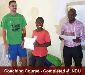 Coaching Course completed - certificates issued to participants