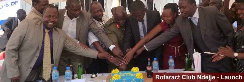 Rotaract Club Ndejje Officially Launched