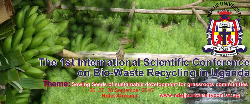 Int. Scientific Conference 2016Theme: sowing seeds of sustainable development for grassroots communities. Tracks: Food, Energy, Water and Environment (FEWE) Read more