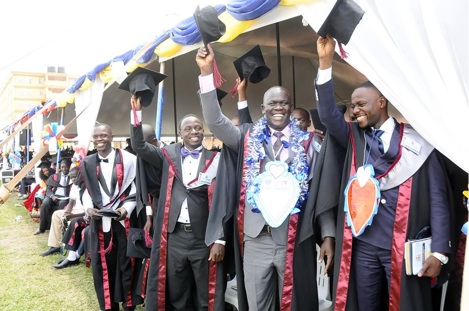 Ndejje University 18th Graduation Ceremony